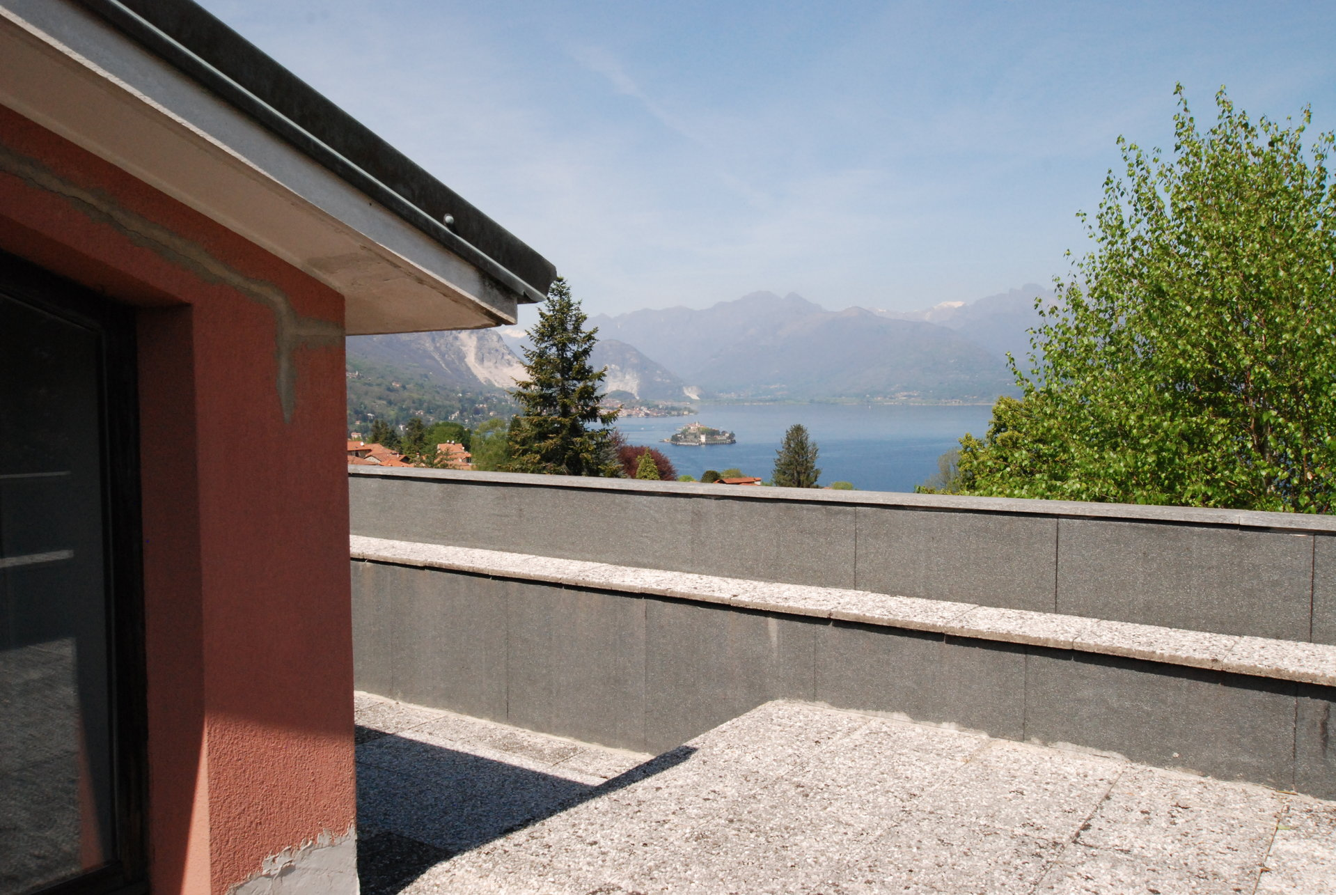 Lake view 80s villa in Stresa - terrace