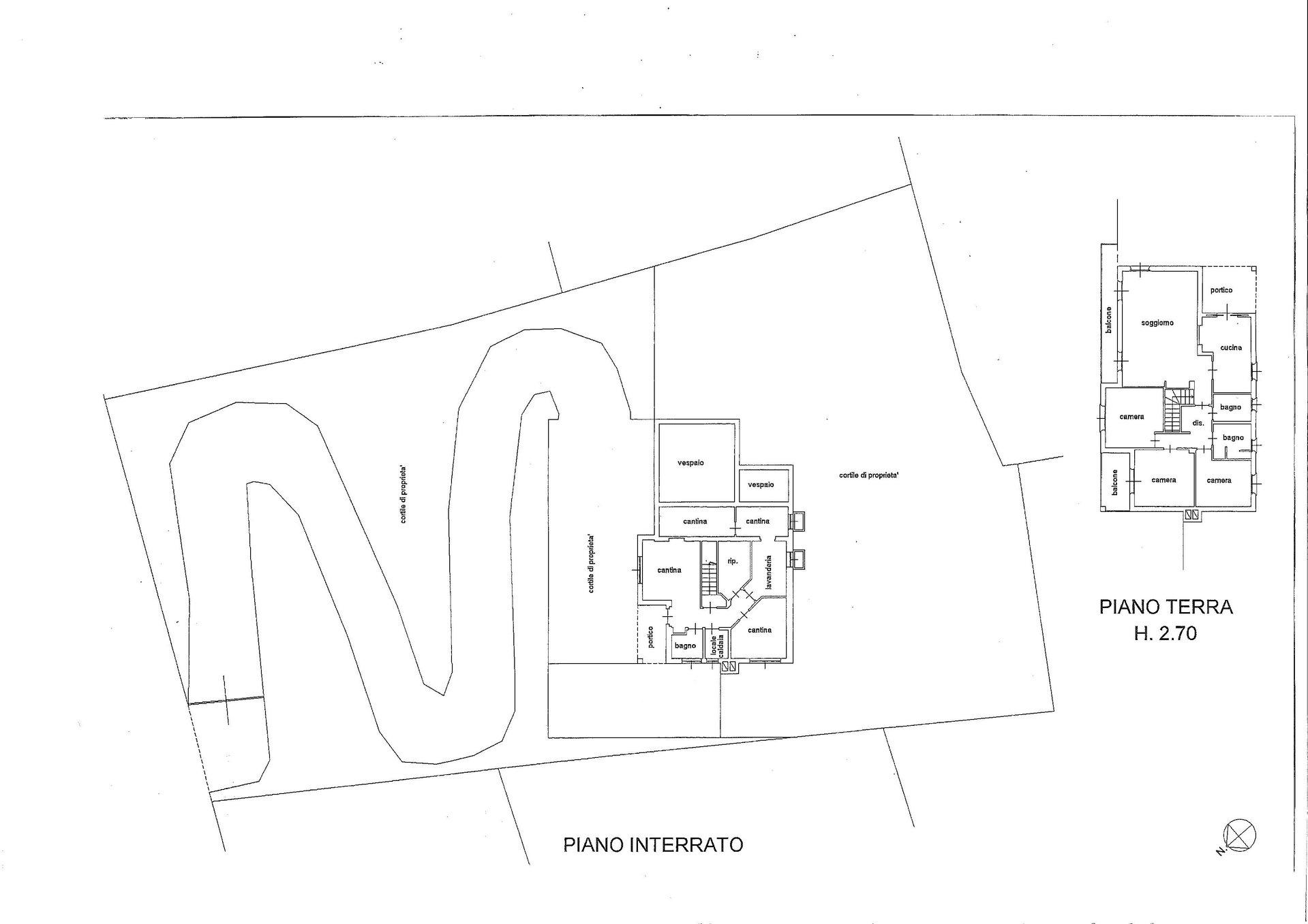Villa in vendita a Stresa -  planimetria A