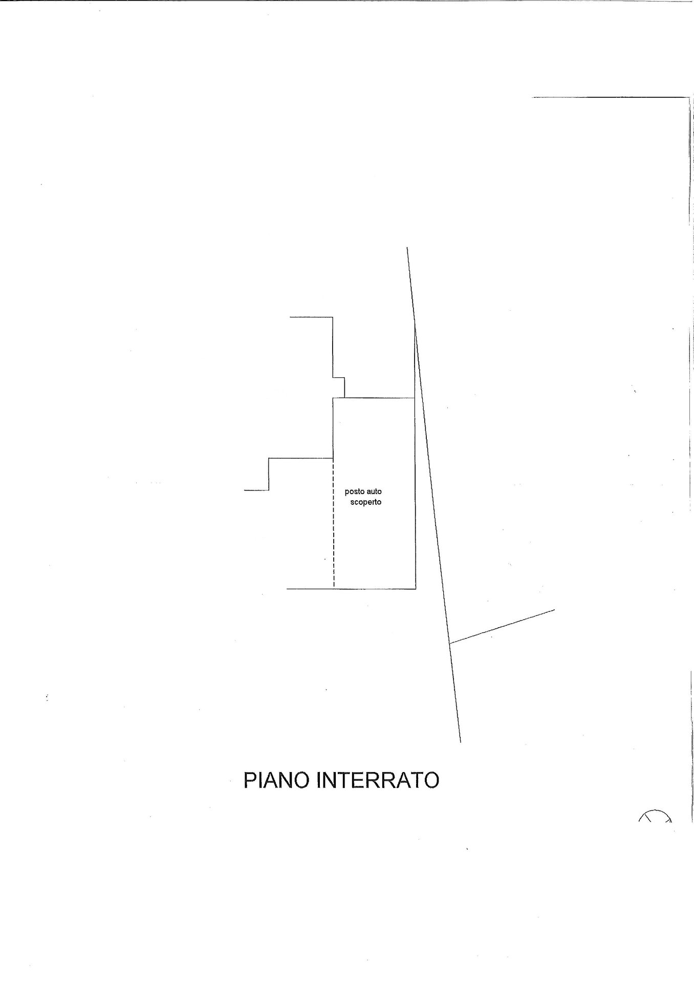 Floor plan of the parking place