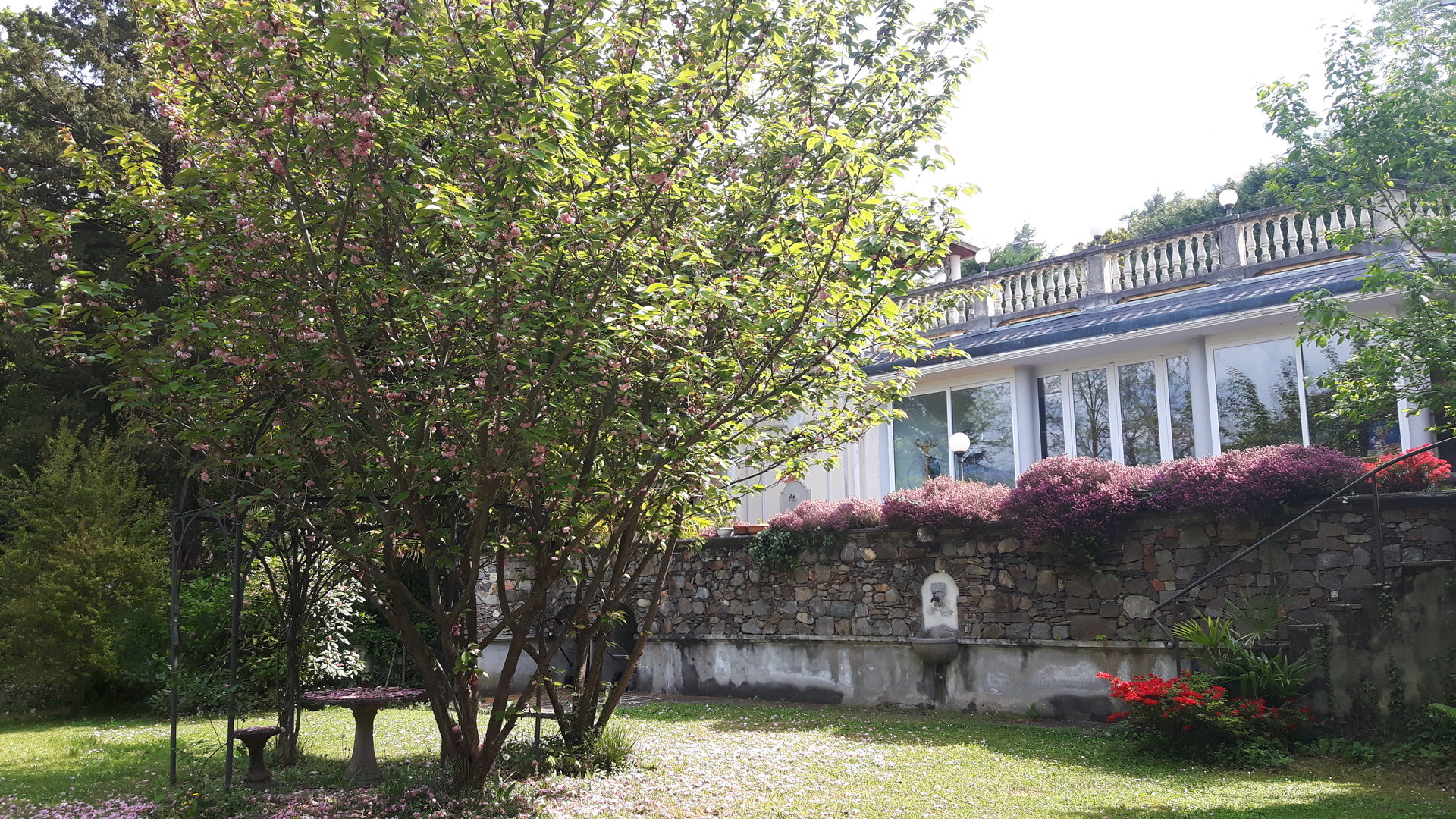 Historic villa for sale in Luino - garden
