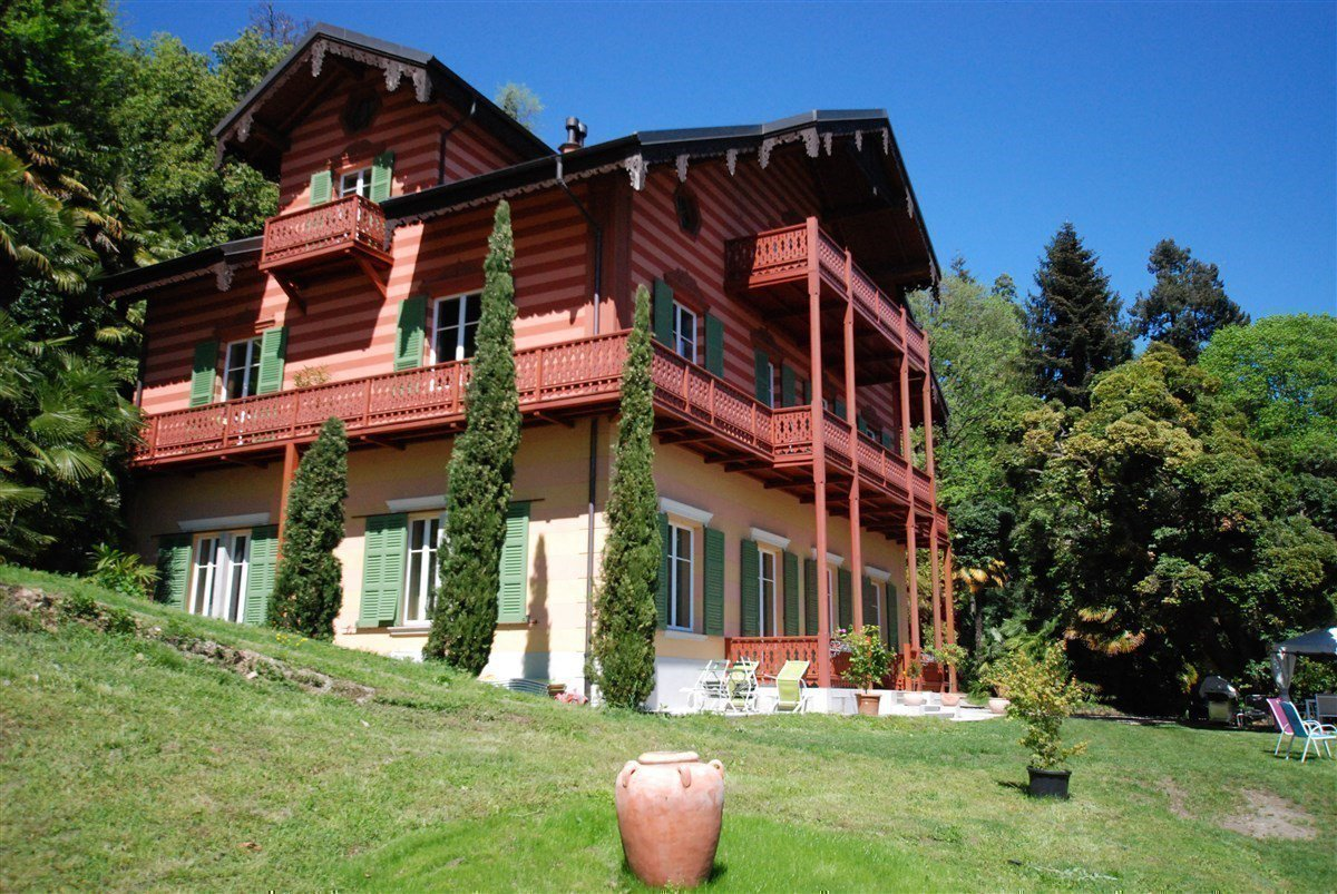 Villa for sale in Ghiffa - outside