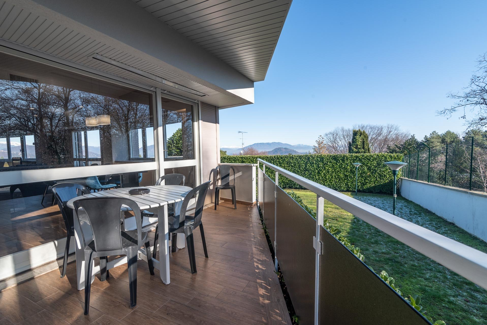 Modern villa for sale near Arona centre - terrace