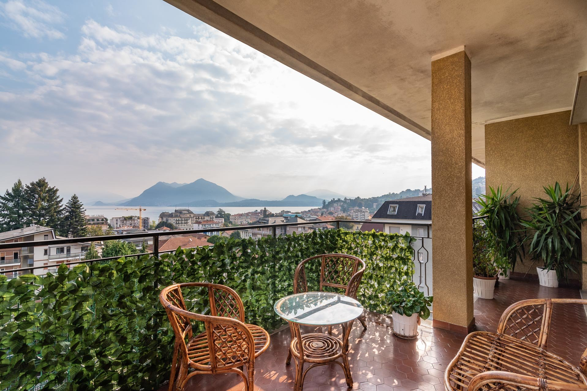 Apartment for rent in Stresa - lake view terrace