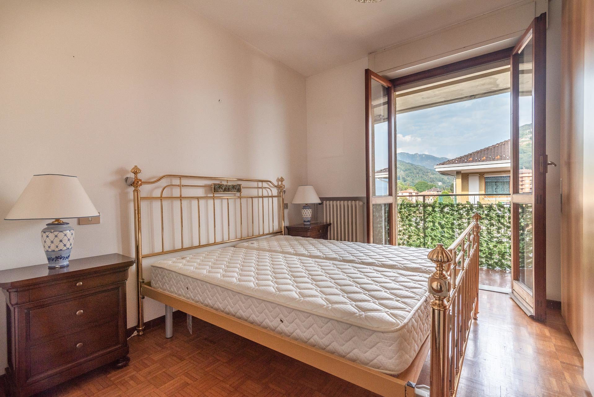 Apartment for rent in Stresa - double bedroom