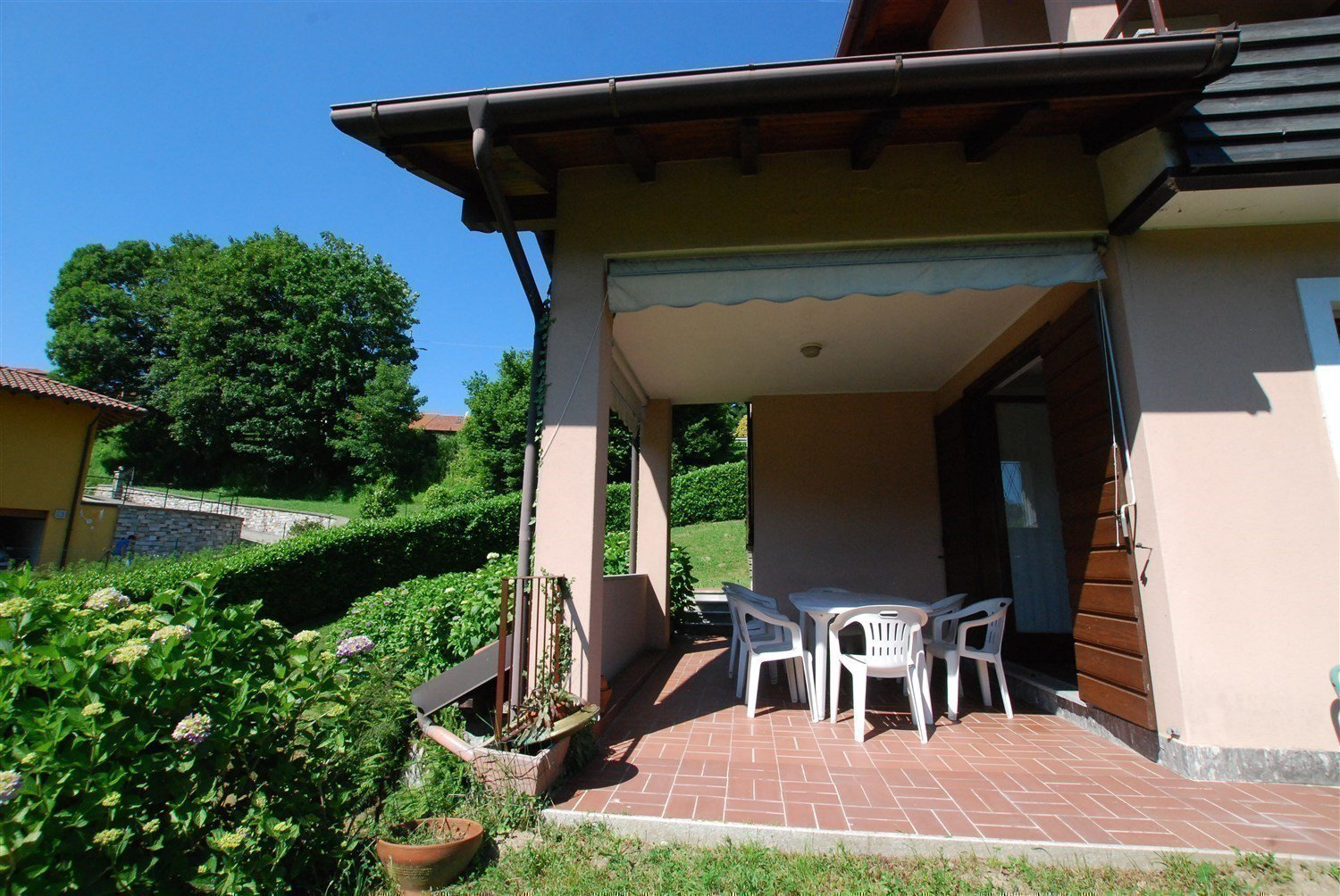 Terraced house for sale in Gignese, based in  Vezzo - patio