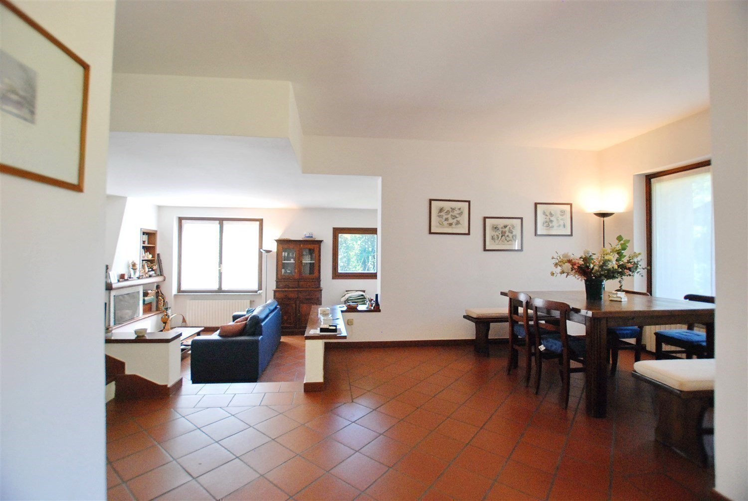 Terraced house for sale in Gignese, based in Vezzo - large living area