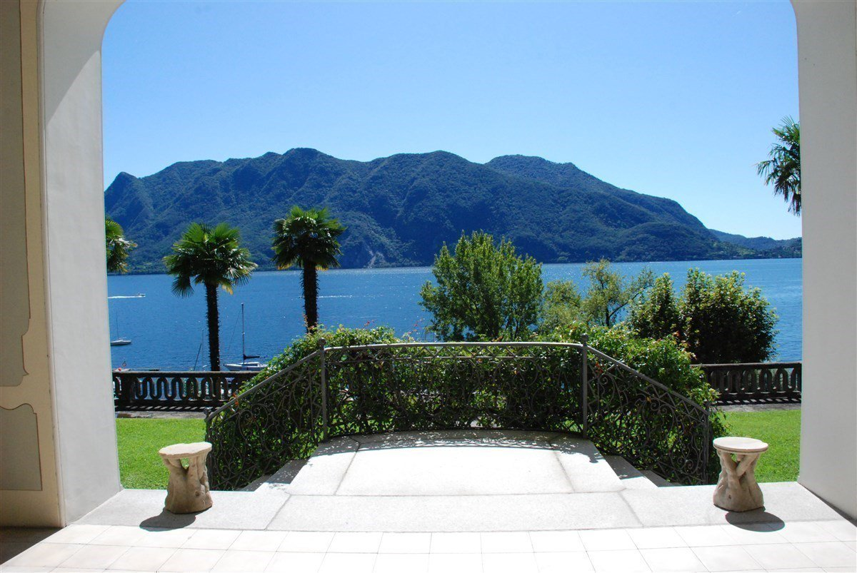 two-room apartment for sale in Ghiffa lakeside- wonderful lake view