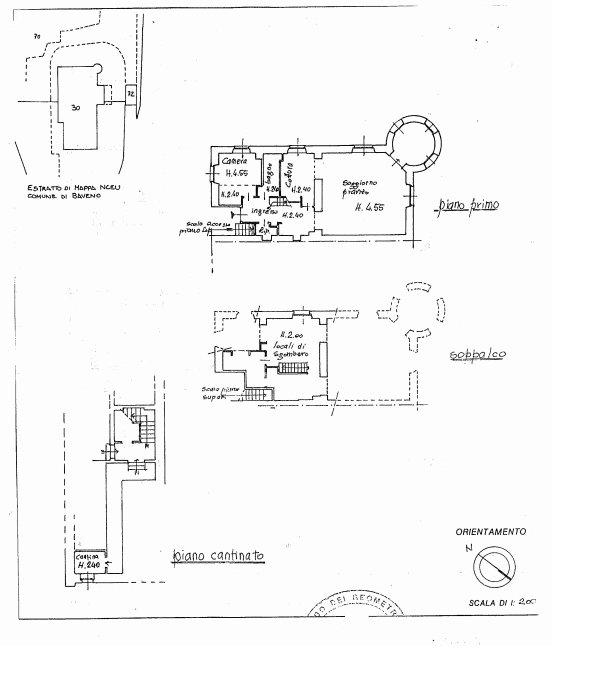 Apartment in period villa in Baveno - floor plan