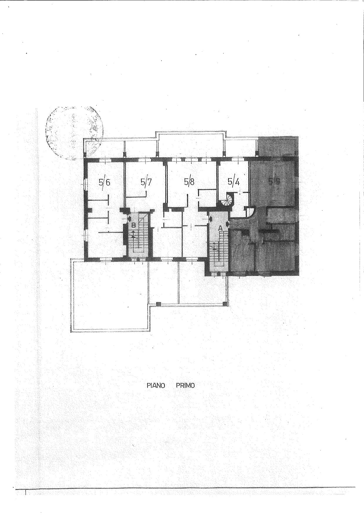 Apartment for sale in a residence in Stresa - floor plan