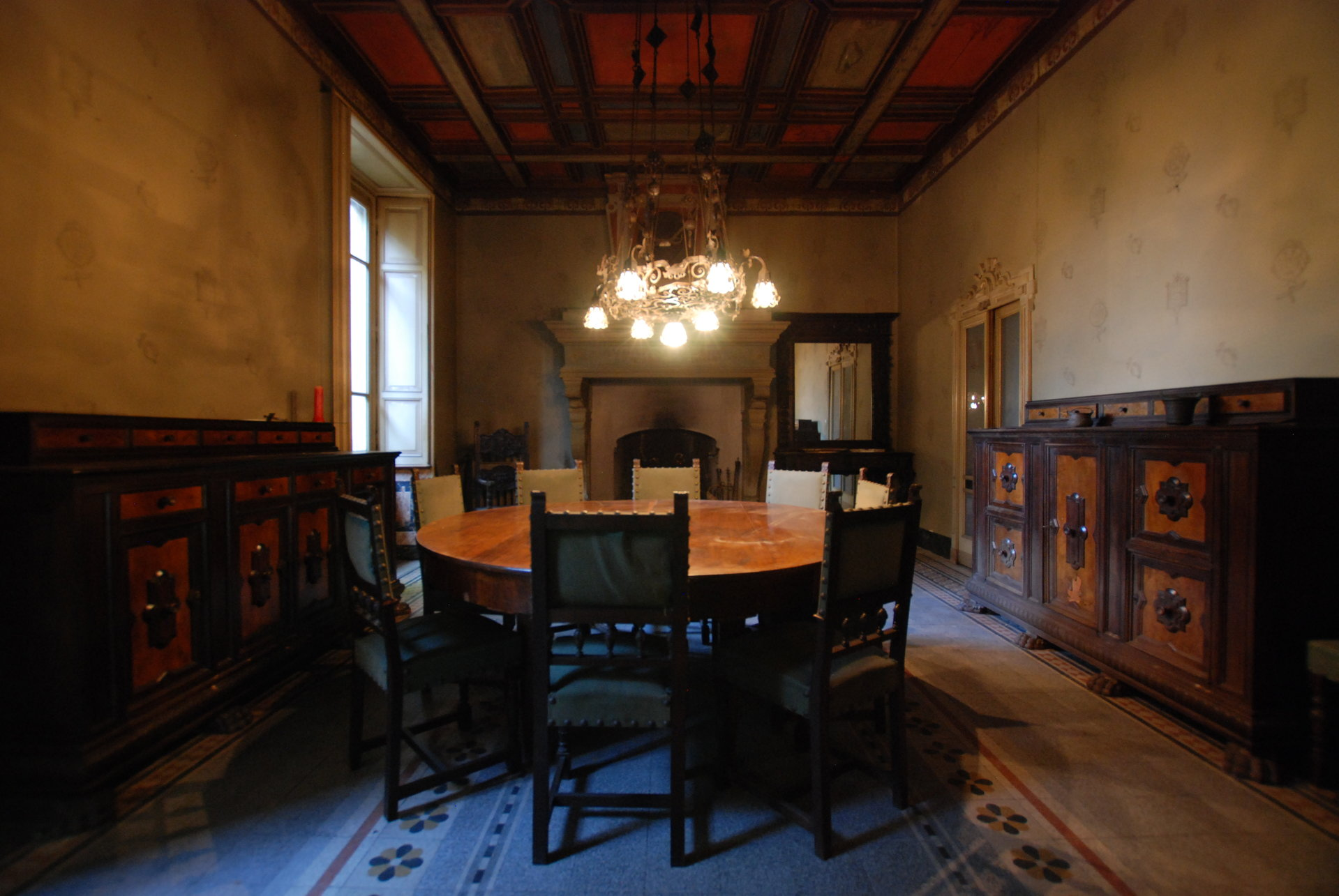 Historic villa for sale in Golasecca - dining room