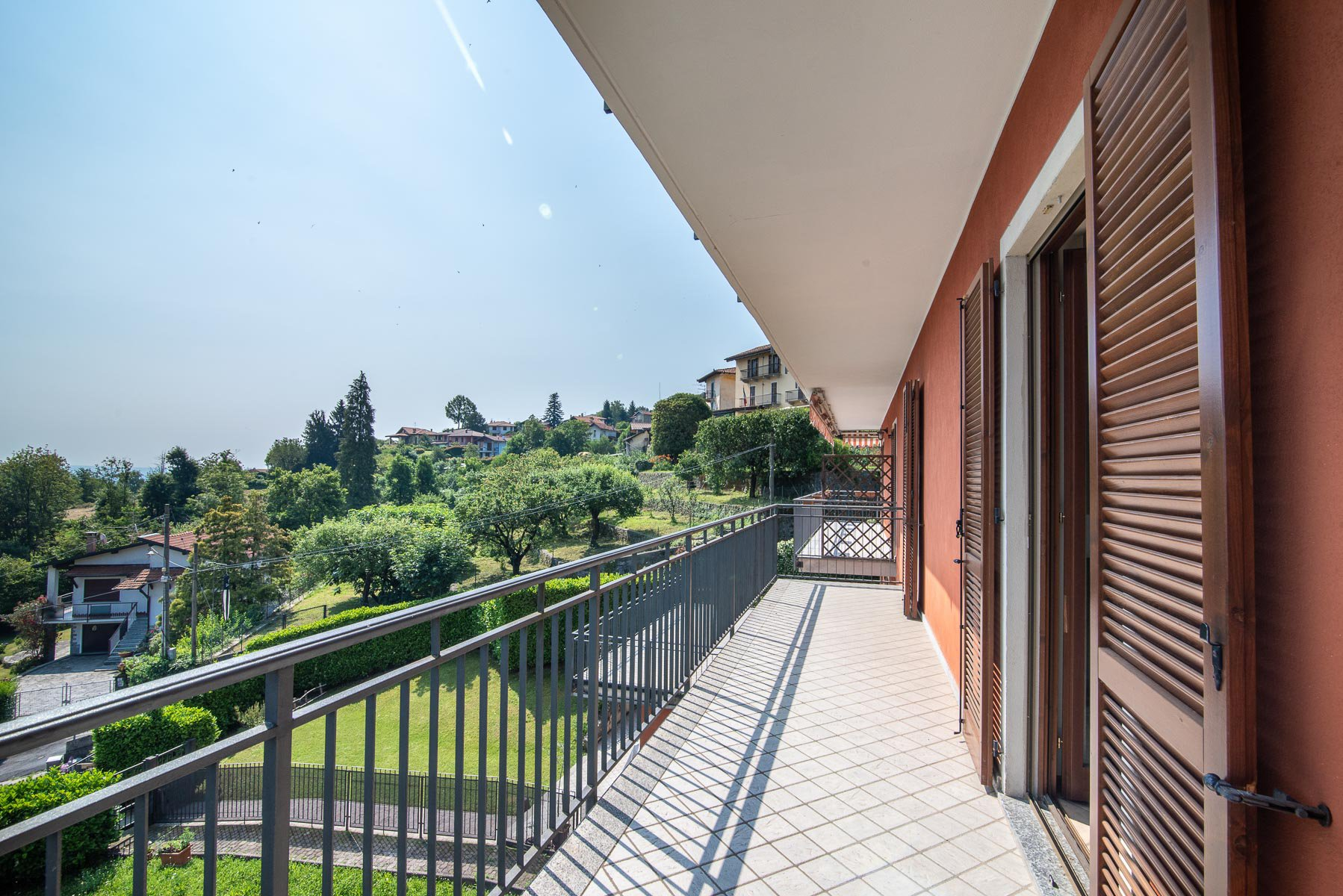 Lake view apartment for sale in Stresa - terrace