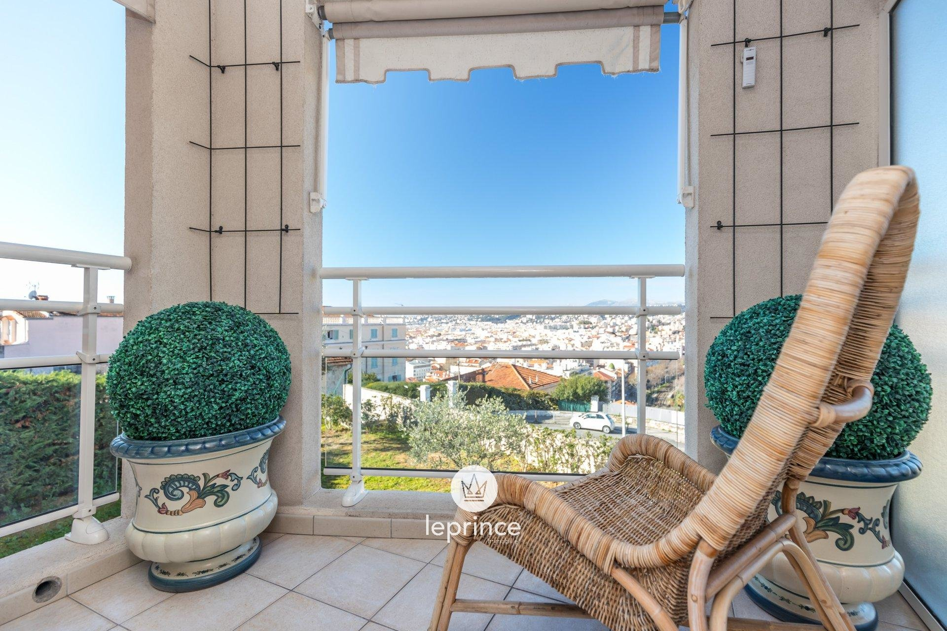Nice Mont Boron / 3 Rooms Garden Panoramic View