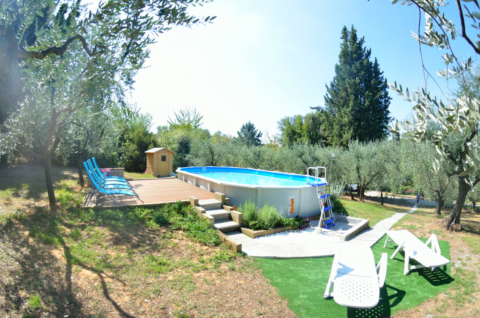 ITALY, TUSCANY, PESCIA, COTTAGE WITH POOL, FOR 5 PERSONS