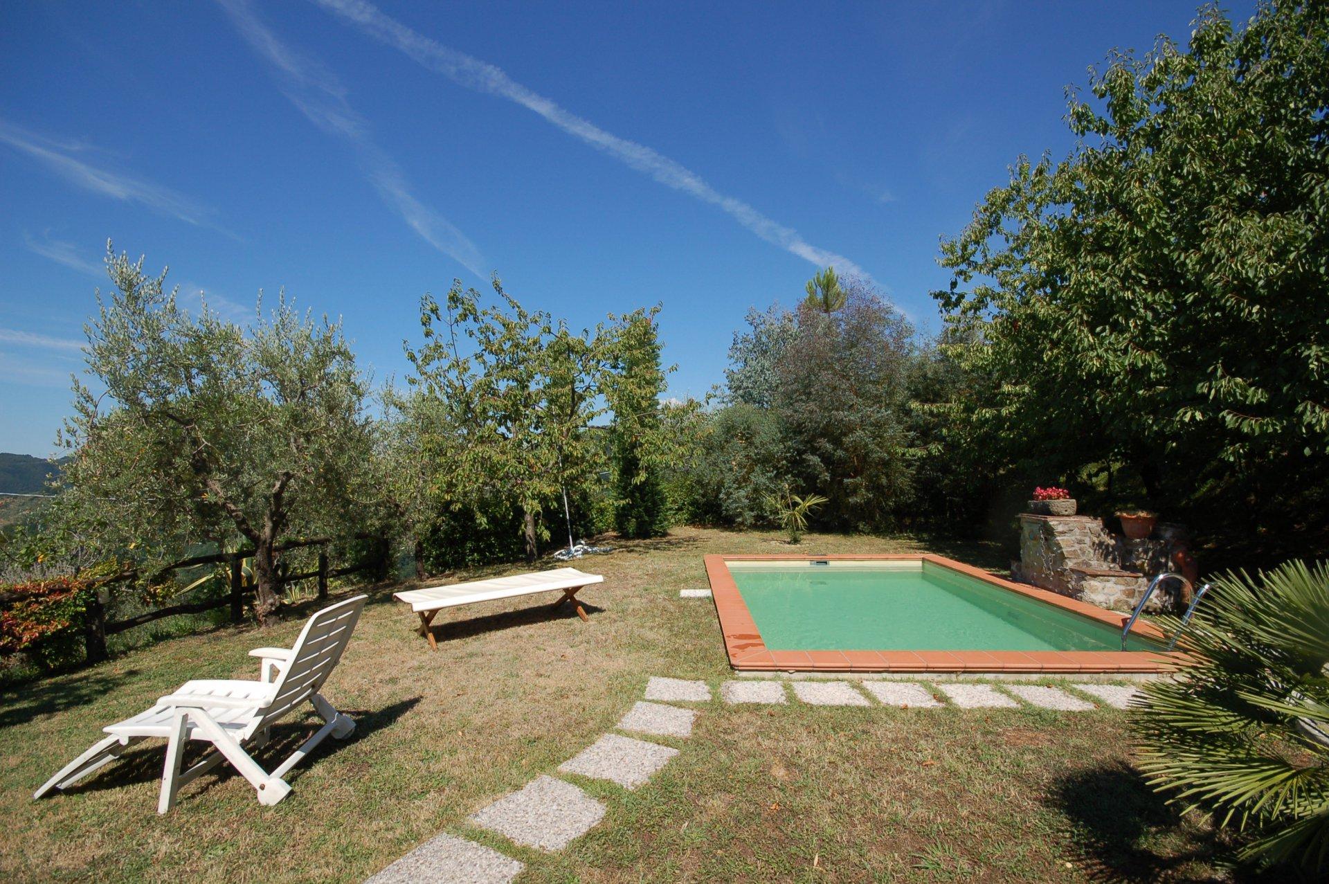 ITALIE, TOSCANE, MONTECATINI TERME, MAISON AVEC PISCINE, 3 PERSONNES