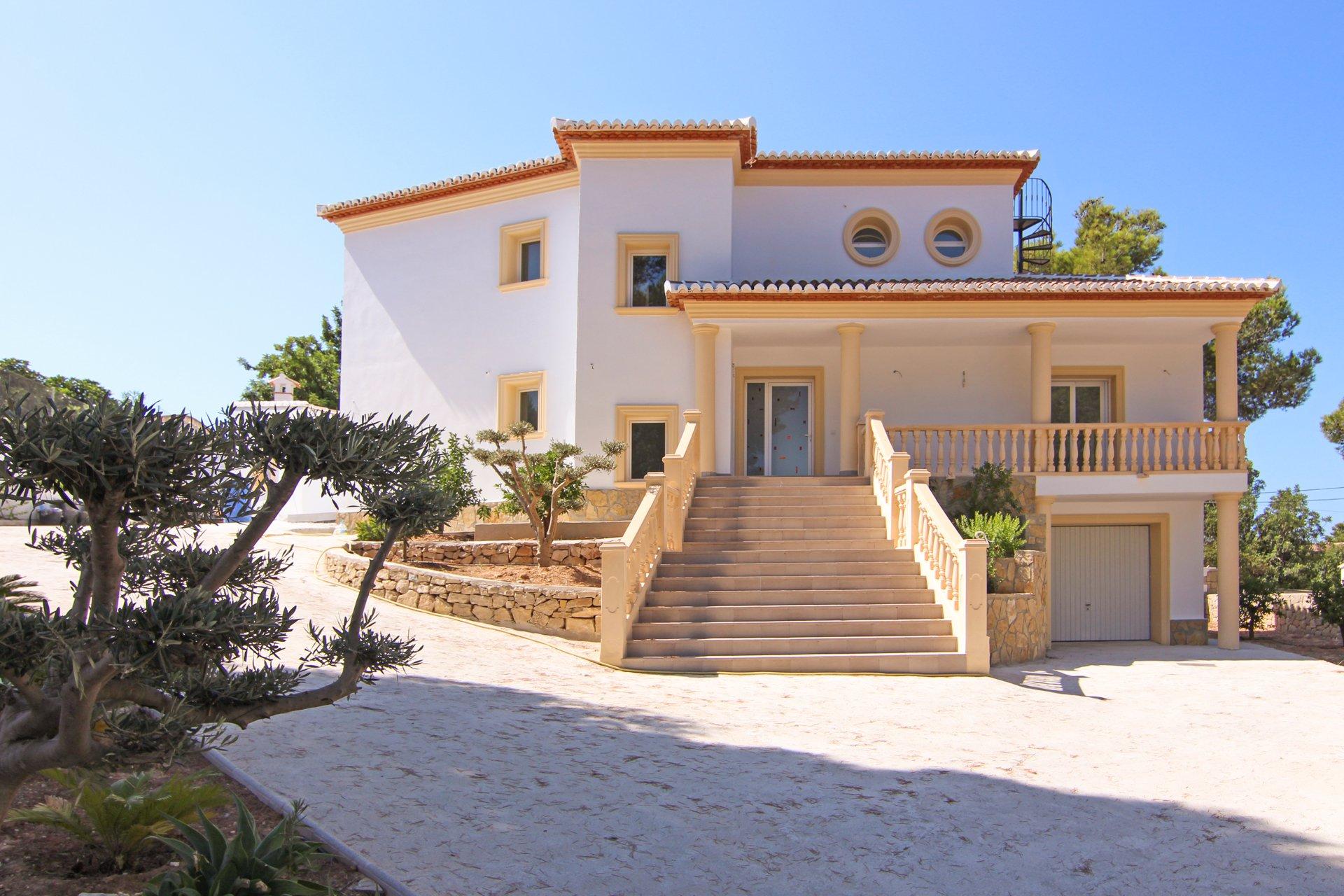New build 4-bedroom villa in La Sabatera - Moraira