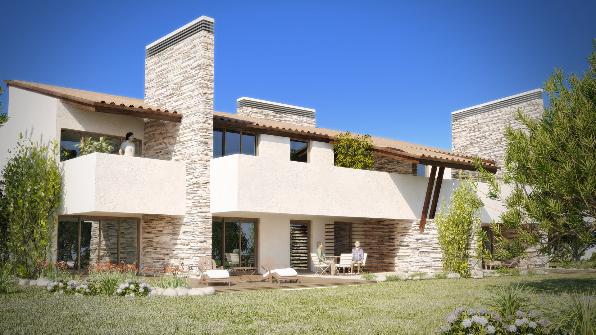 Magnificent villa of 160m² for sale in a hotel complex in Vau in Portugal