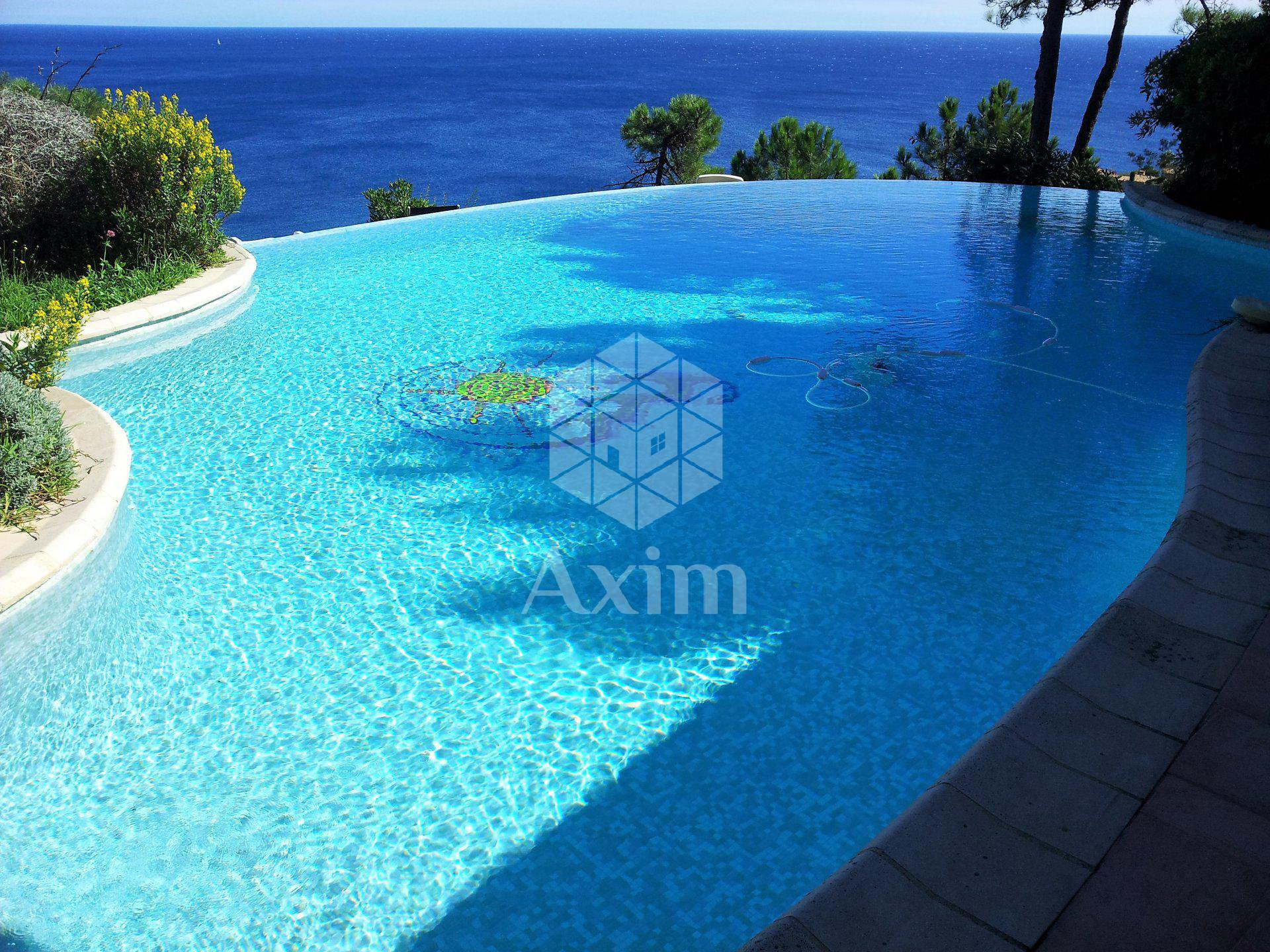 Villa full sea view with pool