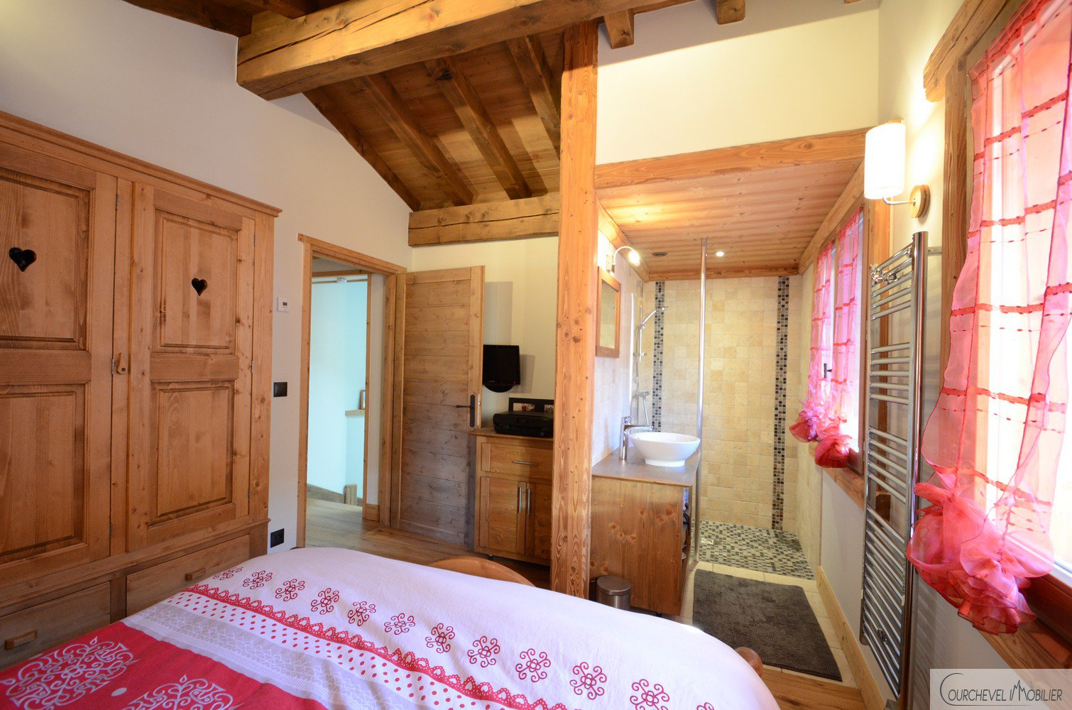 Huur Chalet - Courchevel Le Praz
