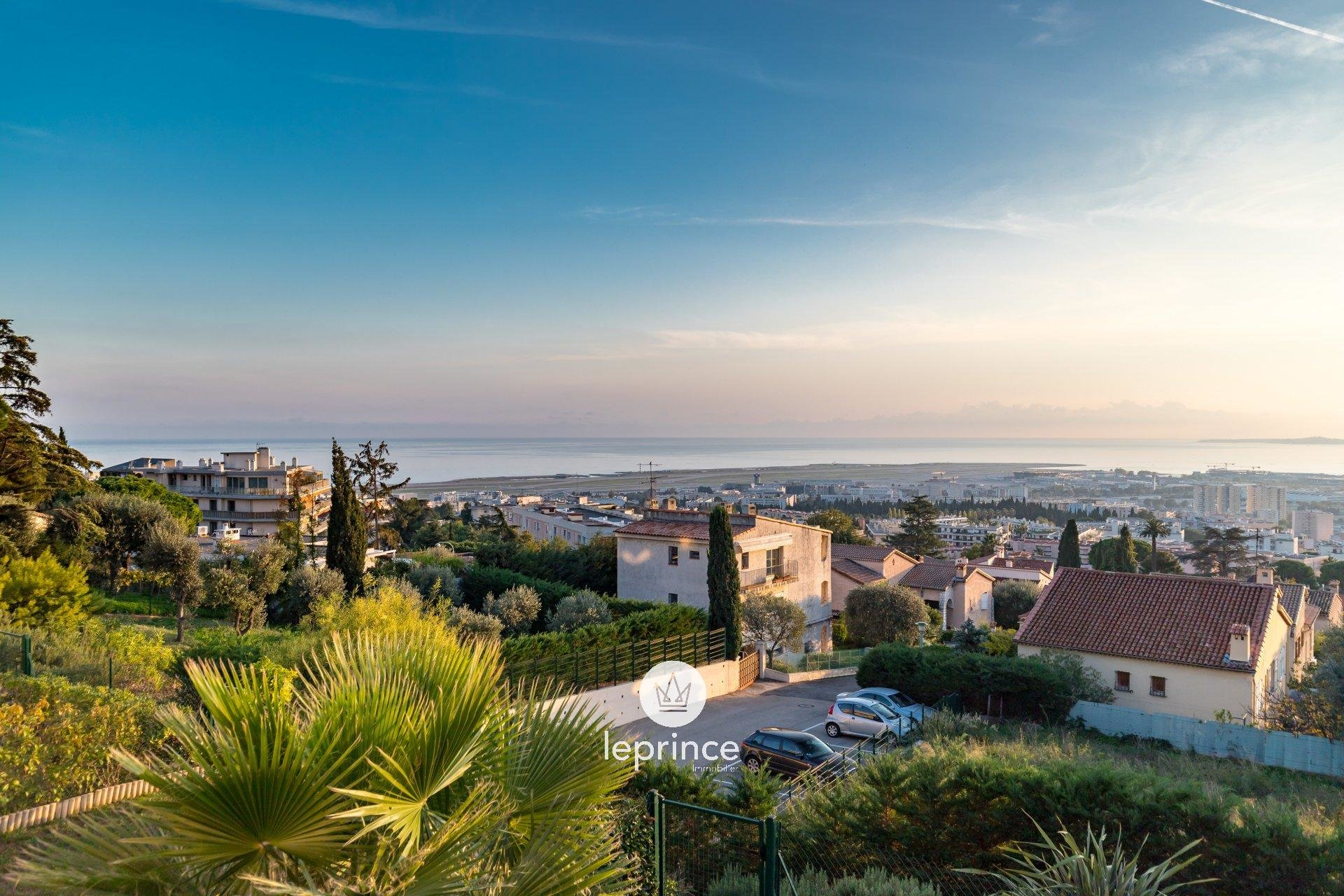 Nice Hills / Lanterne - 2 Bedrooms with Terrace and Sea View