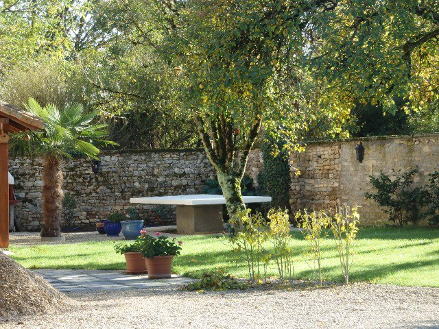 The Old Presbytery in St Romain in Charroux in the Vienne