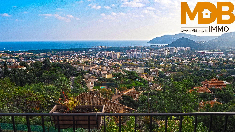 Villa panoramic sea and hills
