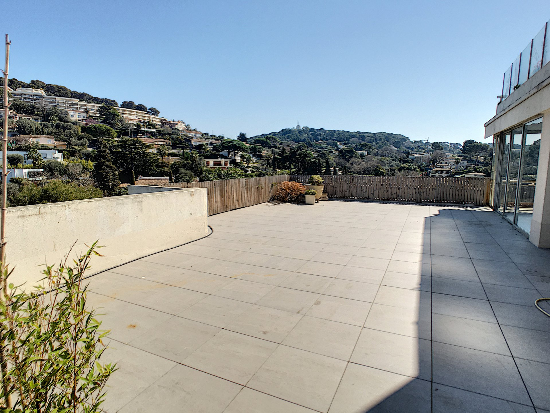 Le Cannet - roof top - sea view