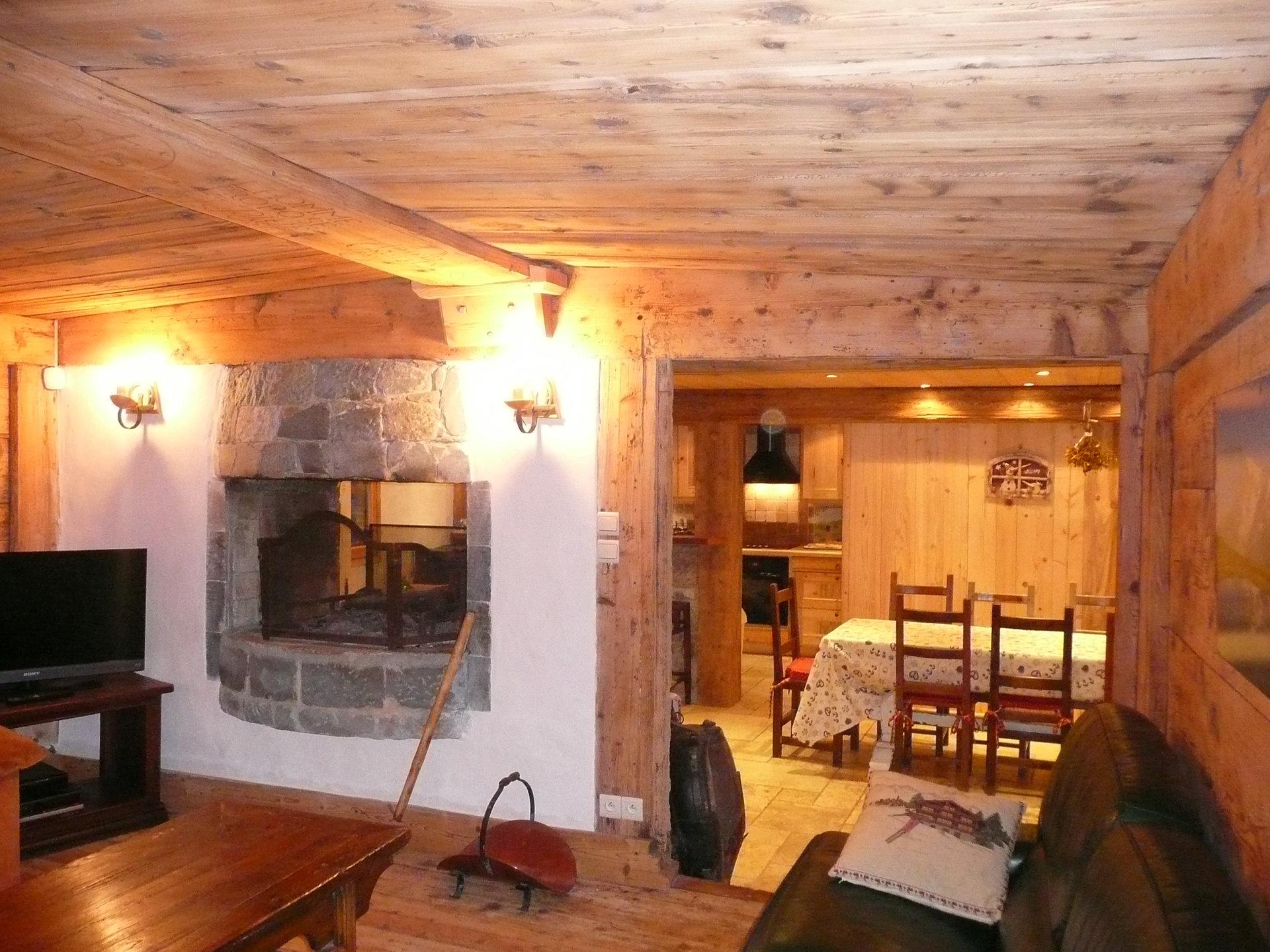 Affitto stagionale Appartamento - Les Houches Les Chavants – La Côte