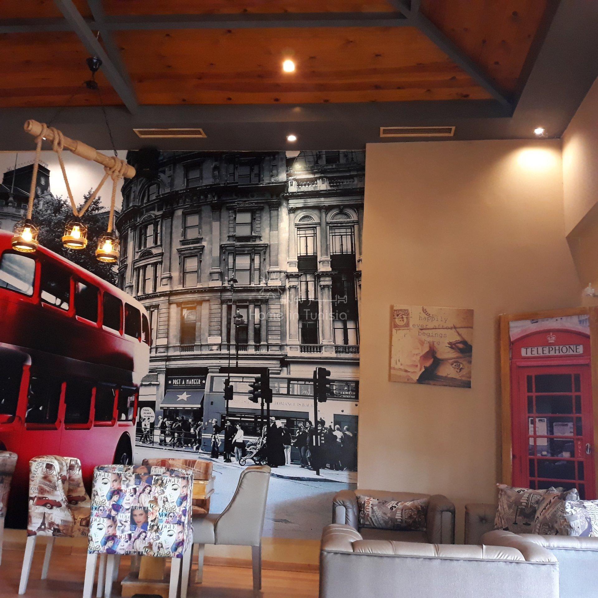 Fond de commerce à vendre salon de thé