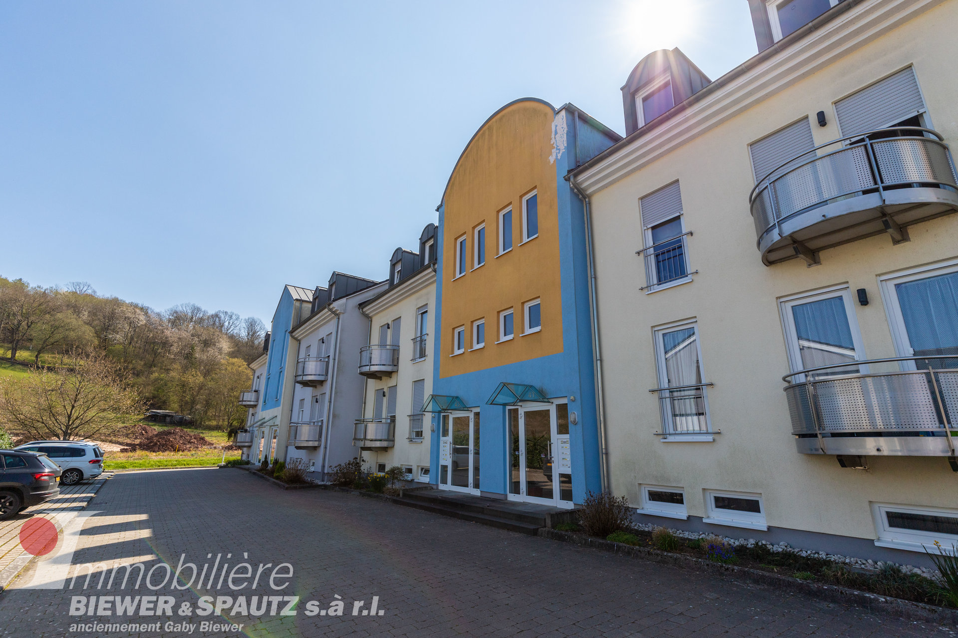 RENTED - apartment with 2 bedrooms in Echternach