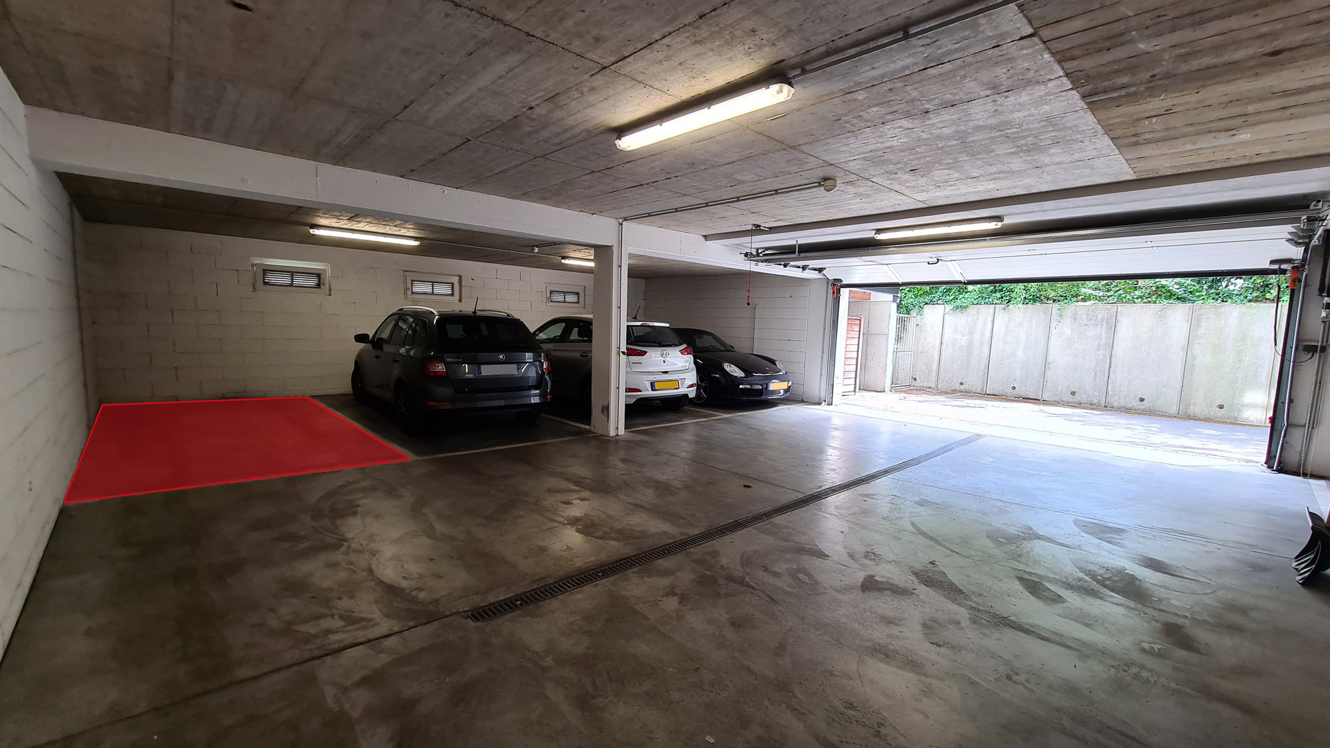 RENTED - 1 parking spot in Luxembourg-Gasperich