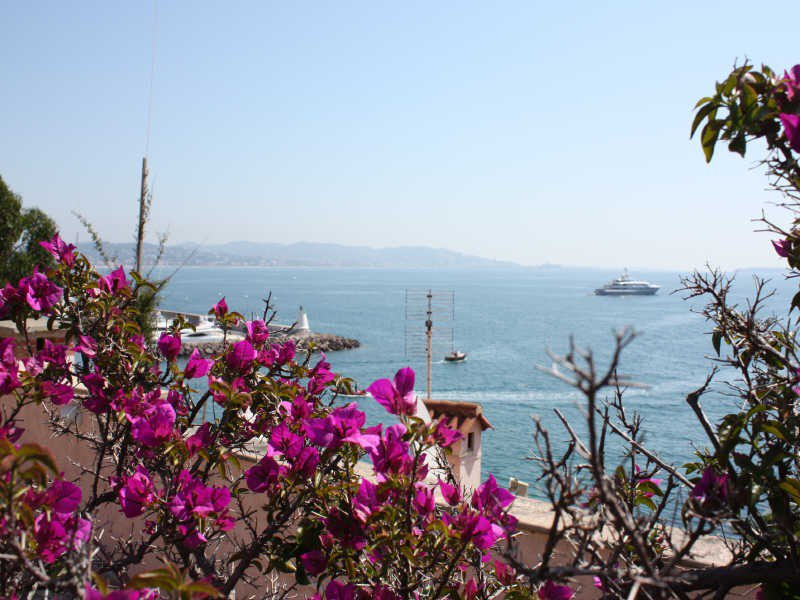 CLOSE TO CANNES WITH SURROUNDING VIEW ON LERINS ISLANDS ...