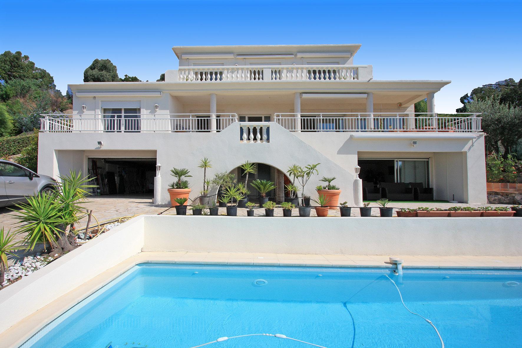 Villa avec vue mer panoramique