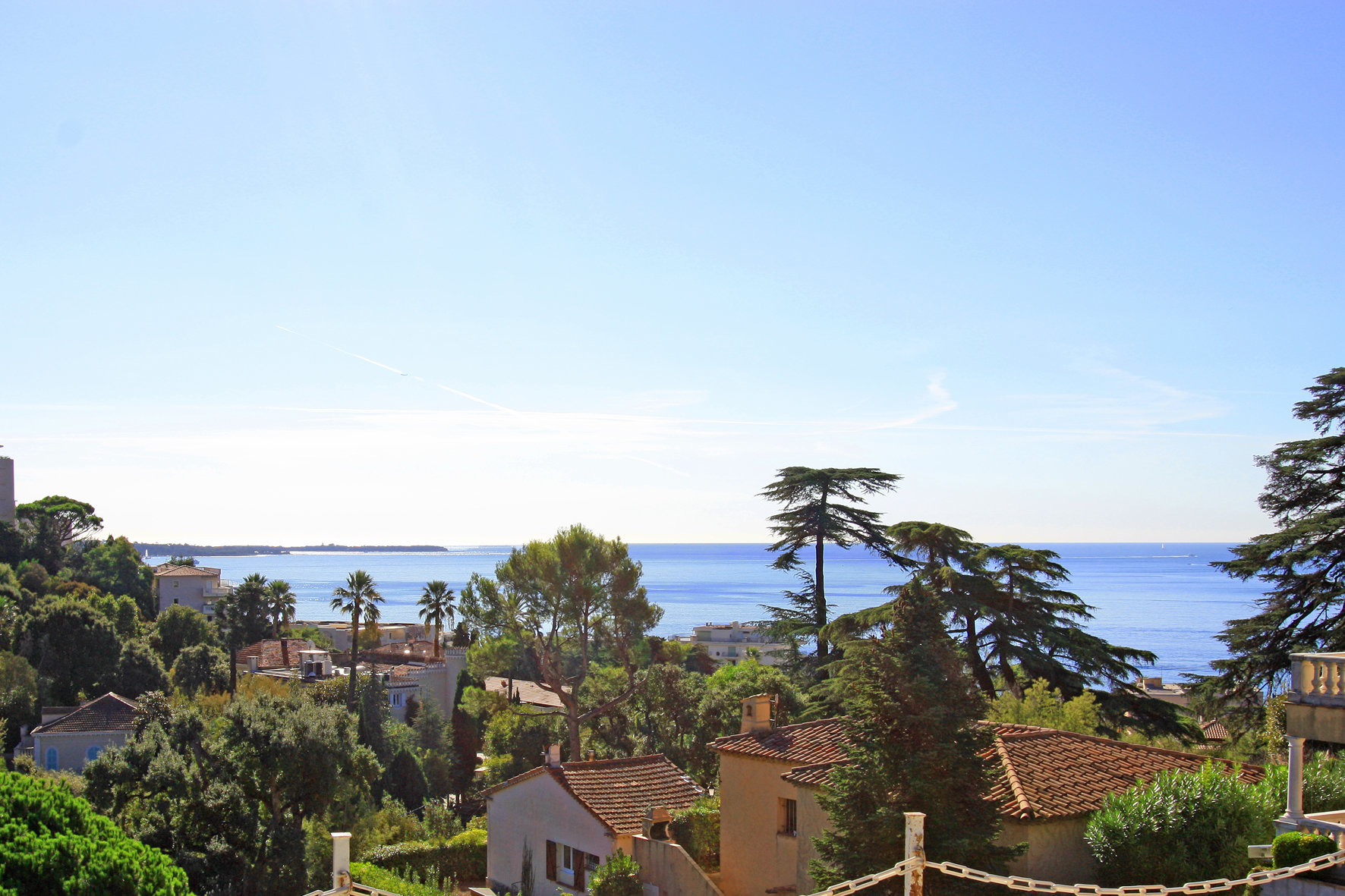 Sea view in Cannes