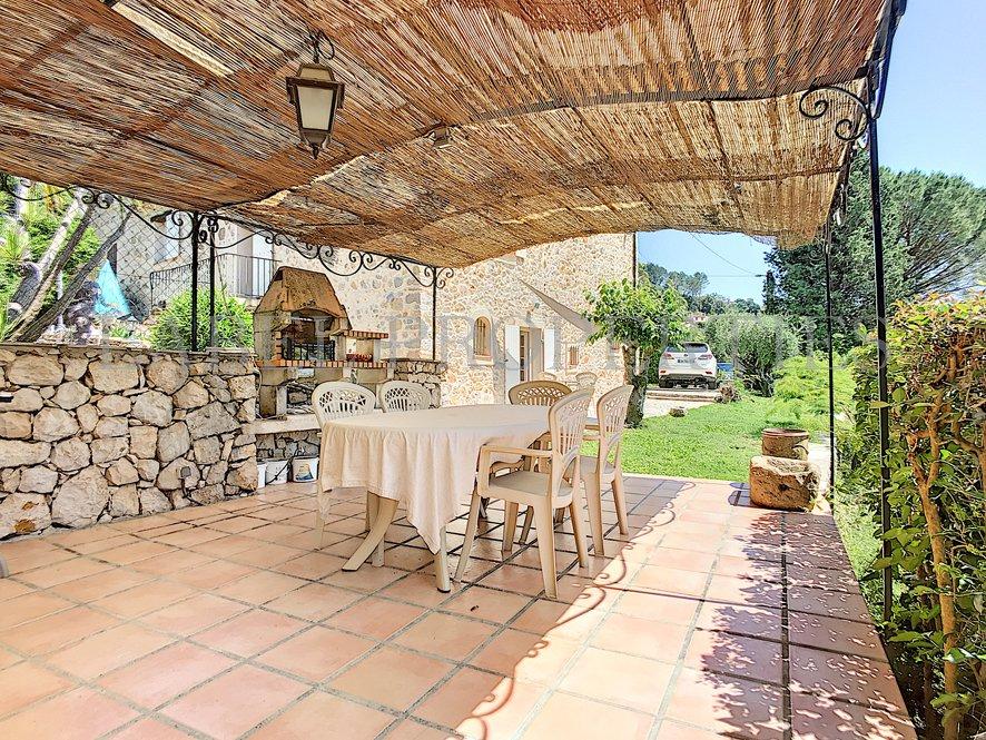 Stone-built farmhouse