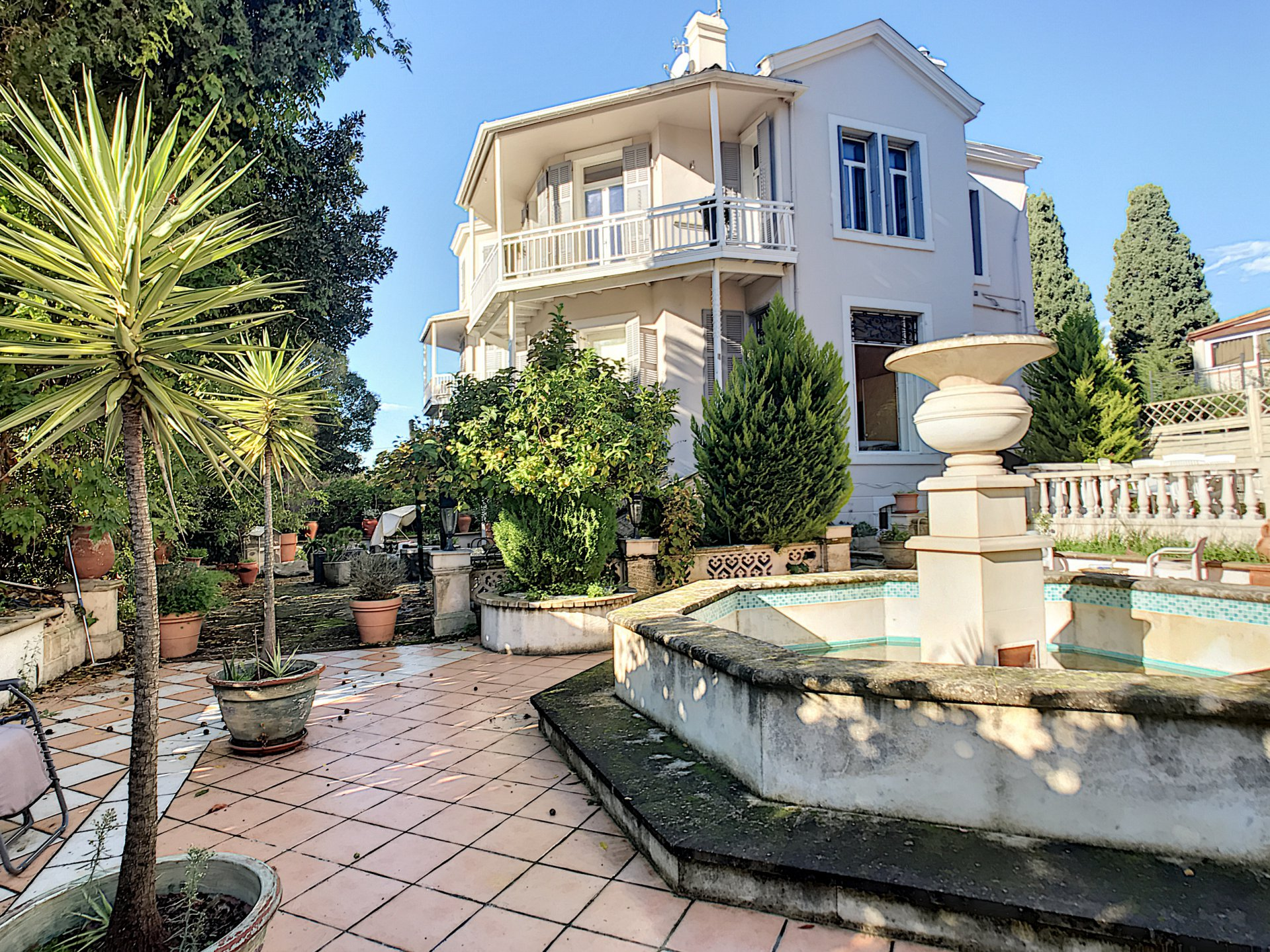 Cannes Montfleury, 3 rooms with garden