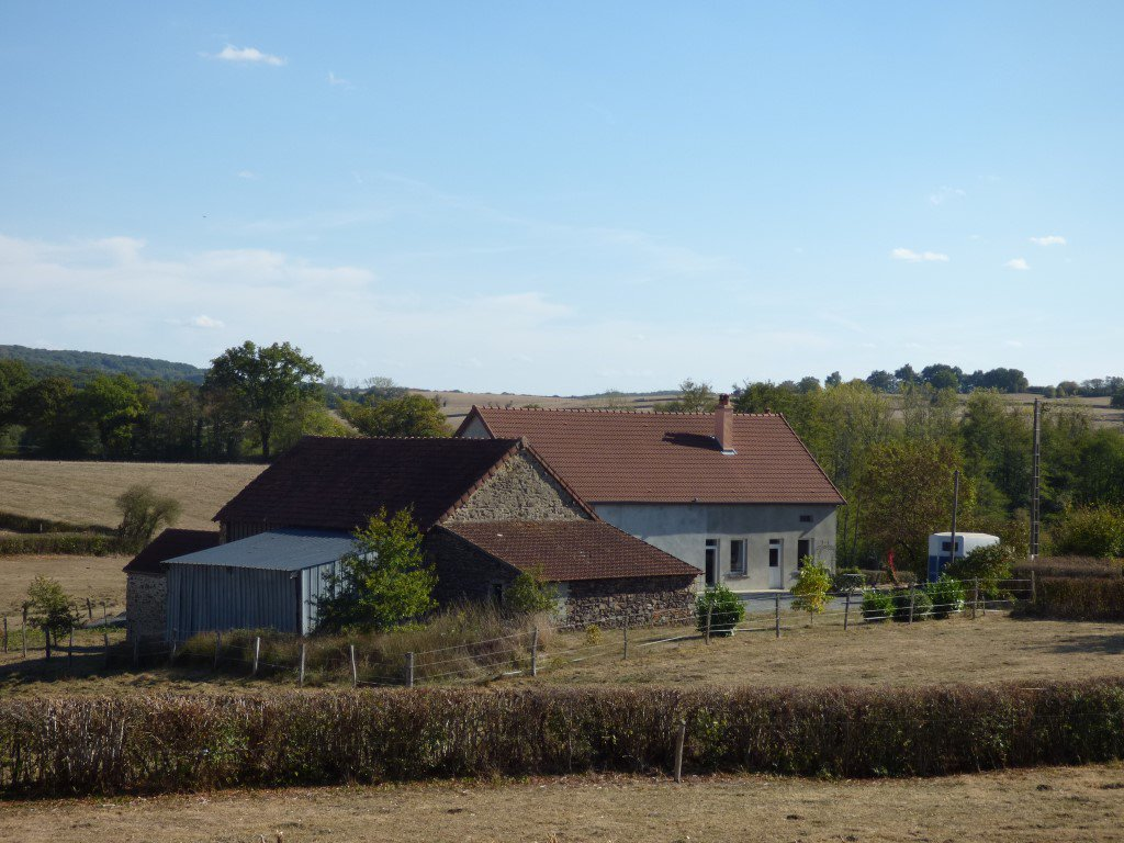 Lovely renovated farm house in the South Morvan