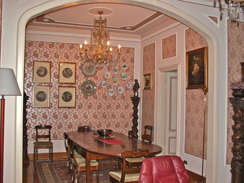 Villa for sale in the centre of Castelnuovo Scrivia- dining room