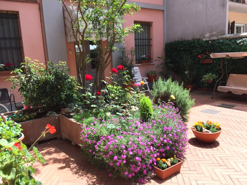 Villa for sale in the centre of Castelnuovo Scrivia- flowers