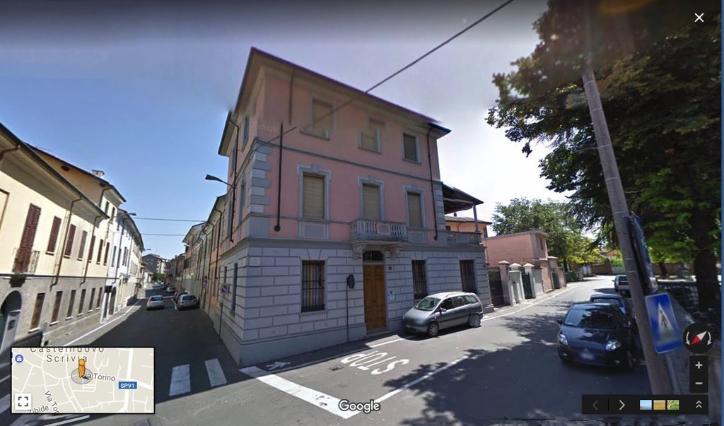 Period building for sale in Castelnuovo Scrivia -  from the street