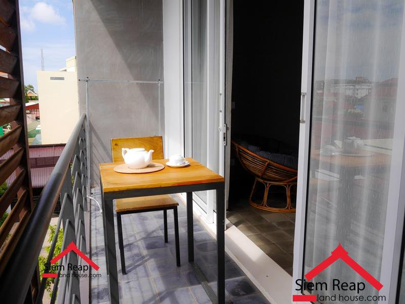 1 bedroom apartment  for rent in Siem Reap $400 per month, ID A-107