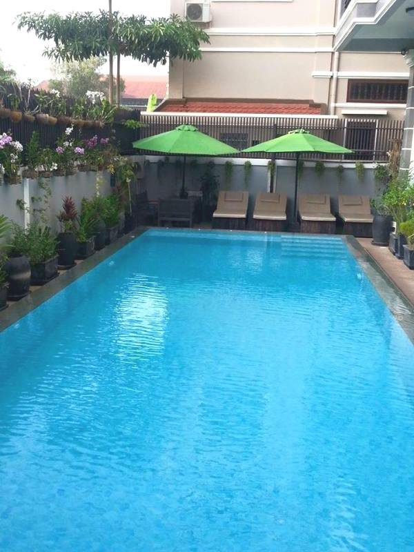 2 bedrooms with swimming pool in siem reap for rent $800 a month ID A-121