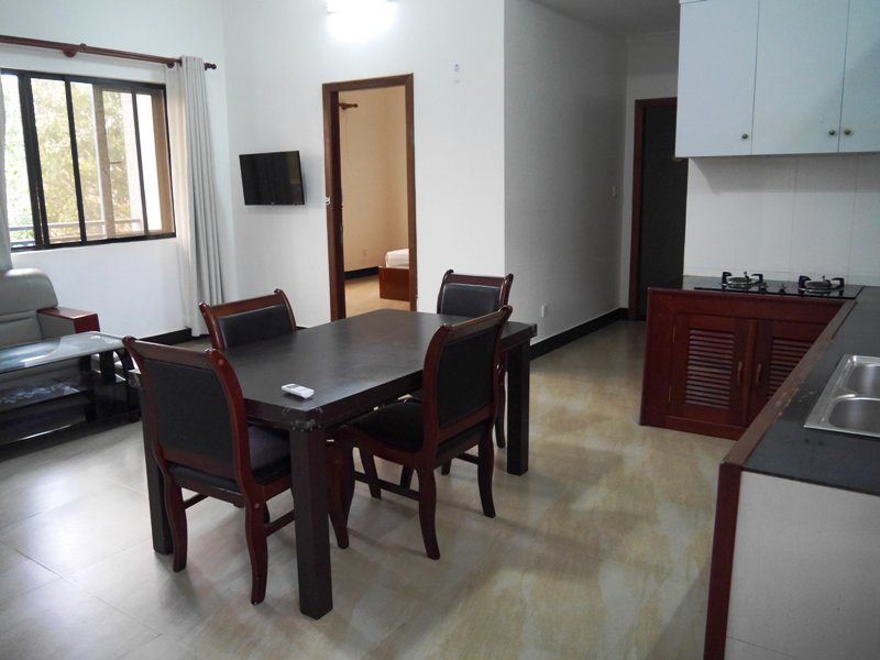 2 bedrooms apartment at Wat Bo zone in siem reap for rent $550 per month ID AP-134