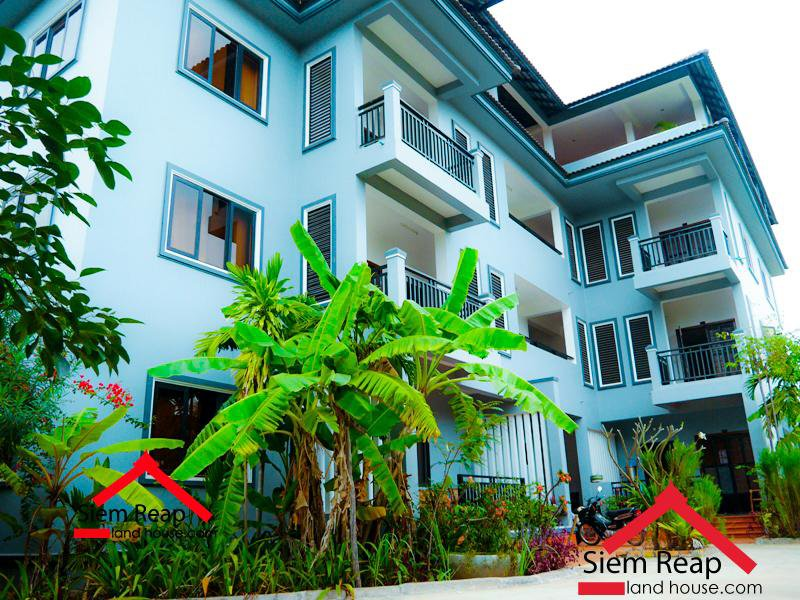 2 bedroom apartment at Wat Bo zone in siem reap for rent $500 per month ID A-134