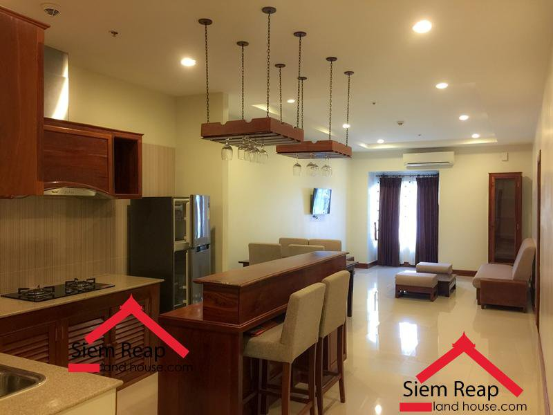2 bedroom apartment with Pool in Siem reap for rent $700 per month ID A-111
