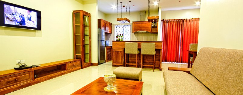 2 bedroom apartment in Siem Reap for rent $900/month ID AP-111