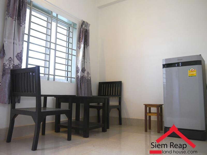 1 bedroom apartment next to ARTISANS ANGKOR and old market for rent $300 per month ID AP-155
