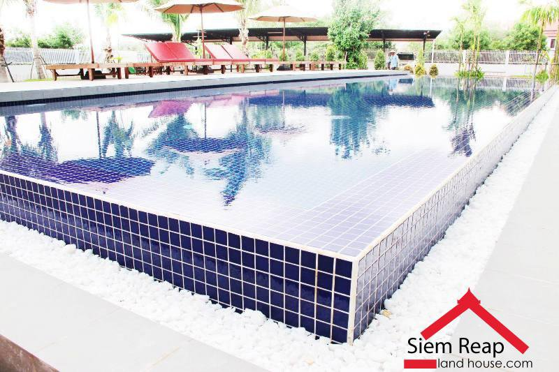 1 bedrooms apartment full furniture with swimming pool for rent in siem reap Cambodia $450 ID  A-175