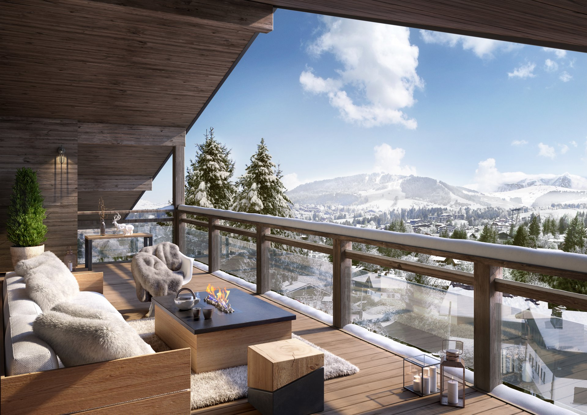 Development Apartment - Megève