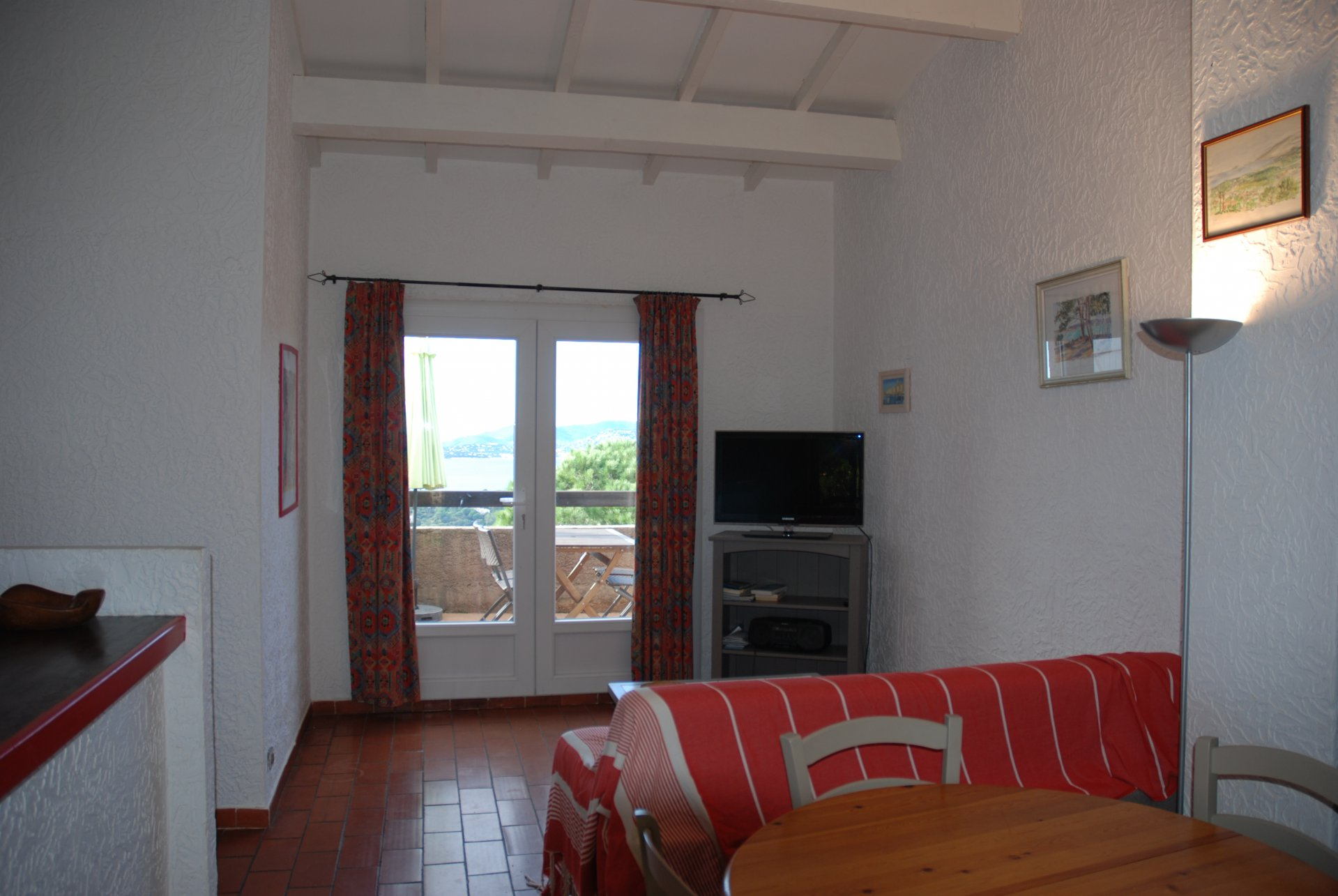 GIGARO / SAULES - Flat 4 persons with sea view