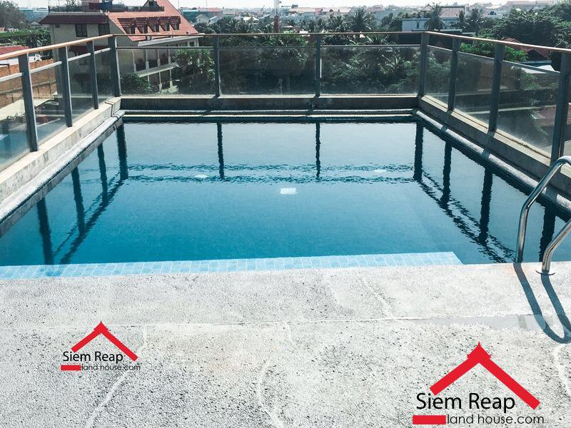 Luxury 2 bedrooms apartment with Pool for rent in Siem Reap ID: AP-187 $1400/m